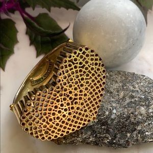 Juicy Couture Huge Gold Heart Bracelet